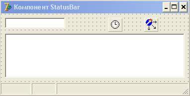 компонент statusbar