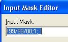 первый вариант маски