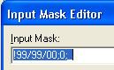 Свойство MaskEdit